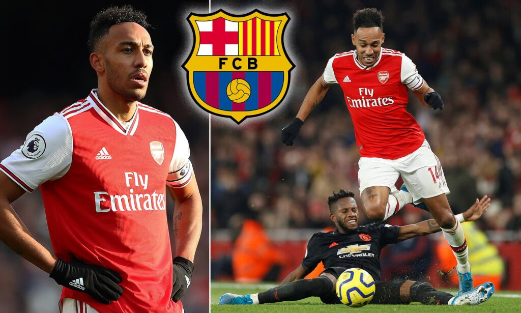 Arsenal's Aubameyang Waiting For FC Barcelona Signing, Claim Reports