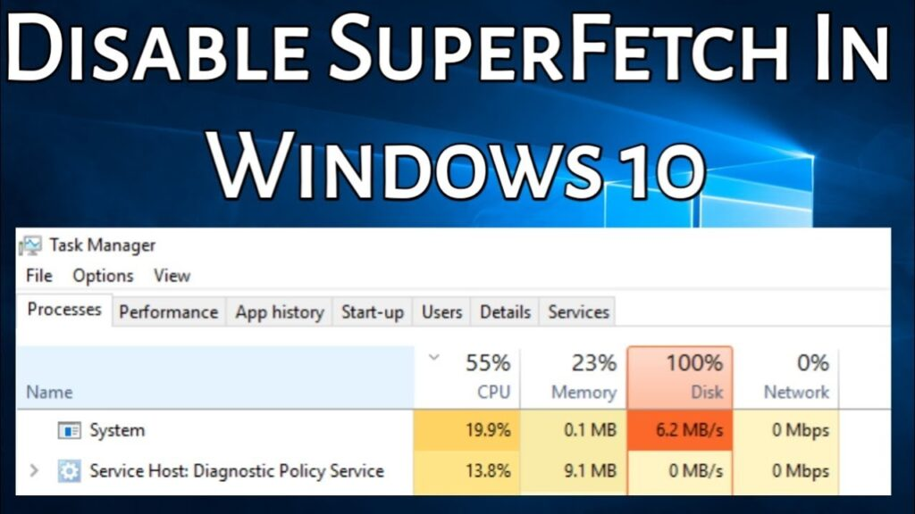 What Is Superfetch on Windows 10? And How to Disable It