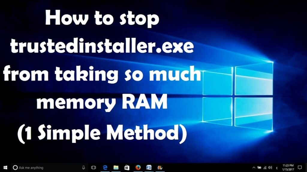 Windows 7/8/10 – How to Delete Files Protected by TrustedInstaller