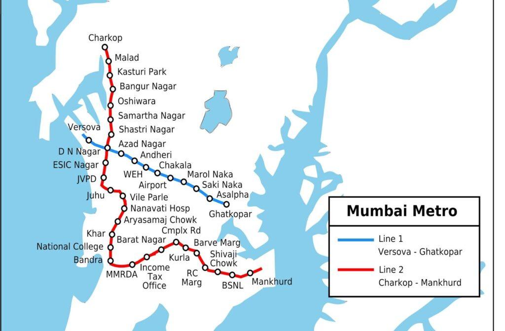 Mumbai Metro Route Map Guide